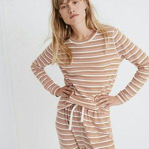 NWOT Madewell honeycomb pajama tee